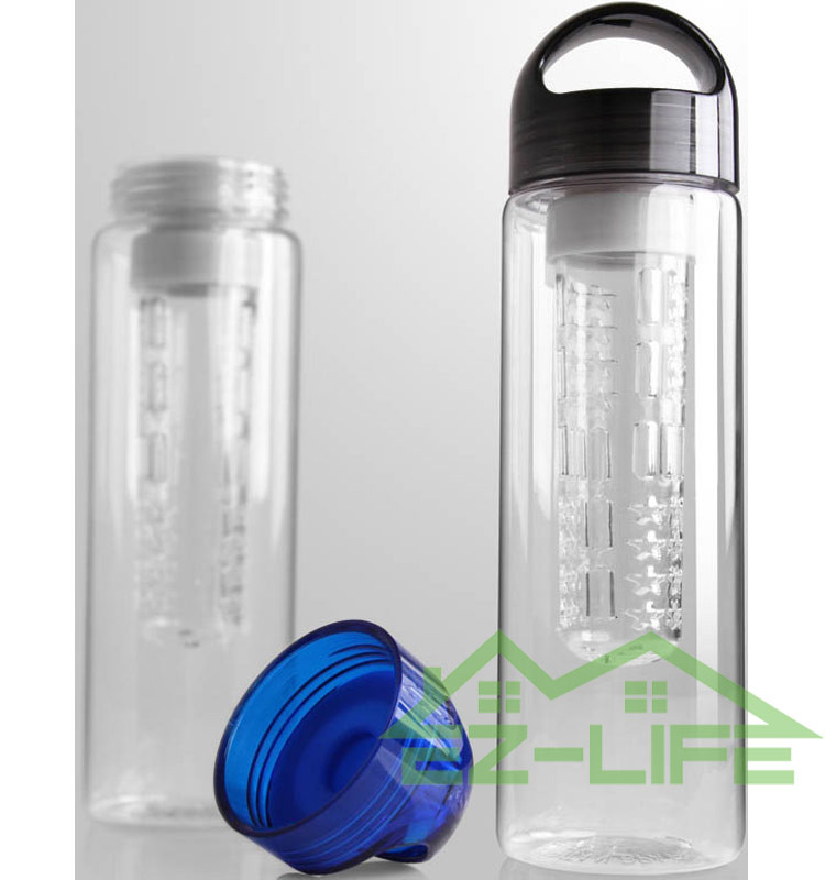 2017 customized best sport bpa free fruit infuser water bottle