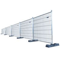 Mobile protect galvanized fence / Remove Austria fence panel/Temporary fence