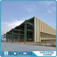 High Quality Well Designed Steel Structure Workshop Steel Frame Building Shed Metal Structure Warehouse