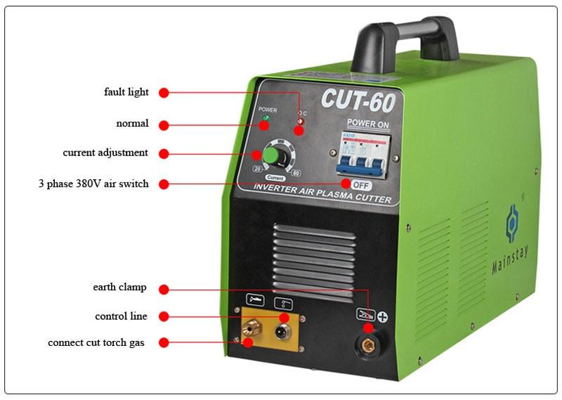 Hot Sale Mos Cutting Machine Cut60 Plasma Cutter Made In China ...