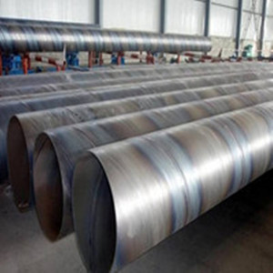 DIN EN API 5L SSAW Steel Pipe With High Strength Sprial Welded Pipe Construction Material