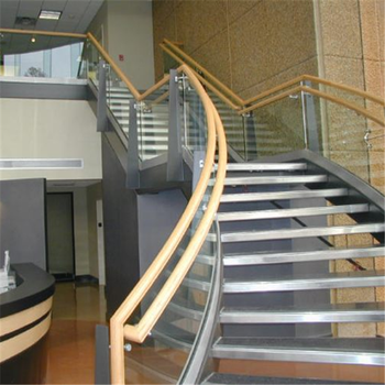 factory price commercial exterior interior stair design for curved