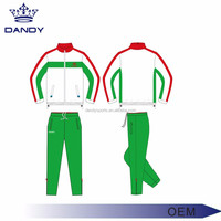Latest design tracksuits wholesale custom mens sports tracksuit cheap polyester tracksuit