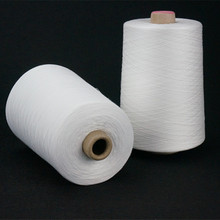 30/1 Poly Spun Knitting yarn for Egypt market virgin quality