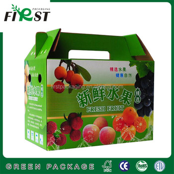 cardboard box for fruit and vegetable / fresh fruit corrugated box packaging