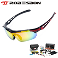 ROBESBON Polarized Cycling Eyewear MTB Road Bike Glasses Outdoor Sports Bicycle Hiking Driving Fishing Sunglasses Goggles