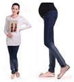 Fashion maternity jeans clothing dress clothes for pregnant women pregnancy maternity casual dressing SH 1