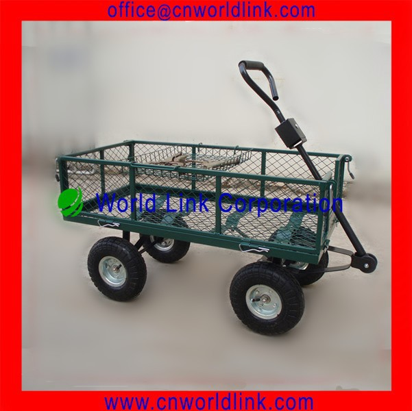 1840A 4 Wheels Hand Pull Garden Dolly