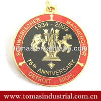 Unique cool style anniversary metal medals