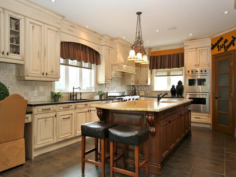 Arabian Style Wood Kitchen Cabinet