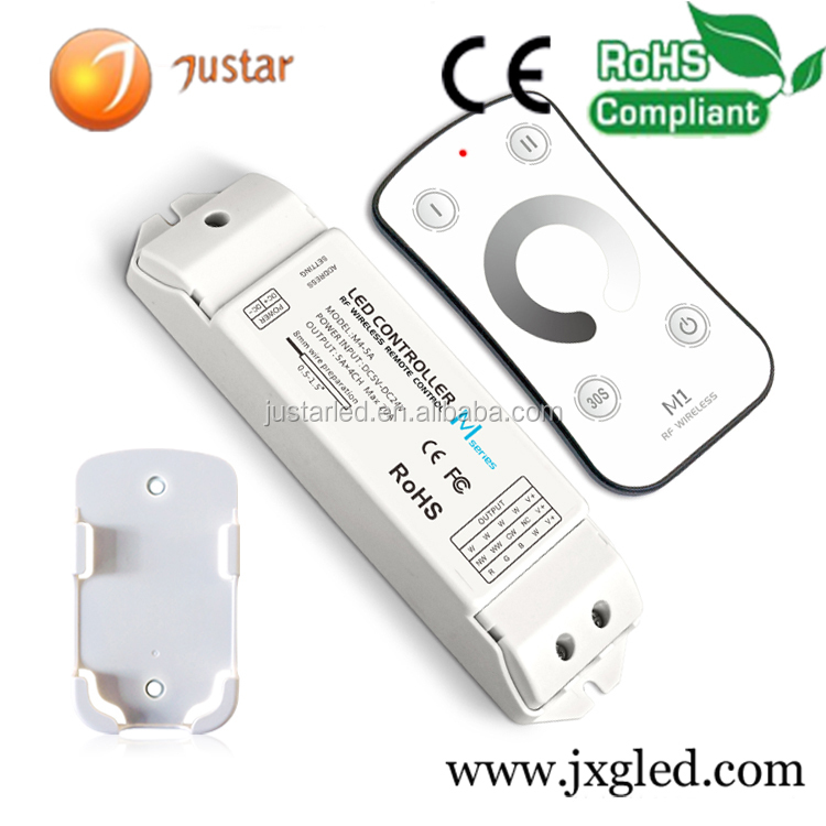 LTECH high quality wireless rgb wifi 0-10v led dimmer controller
