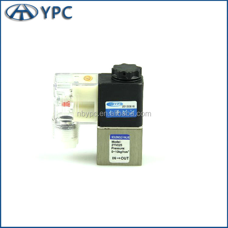 China factory price 2 way direct drive type 24v 220v 5V solenoid valve for Water Oil <strong>Gas</strong>