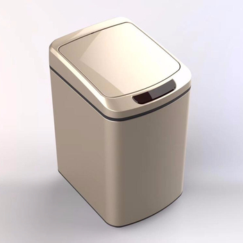 Stainless Steel Automatic Trash Can With Odor Control System Big Lid
