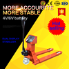 With OIML indicators 2500kg forlift hand electric pallet truck