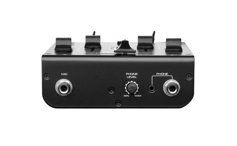 DM-200U CE certificate professional 2 Channel USB sound card inside Mixer