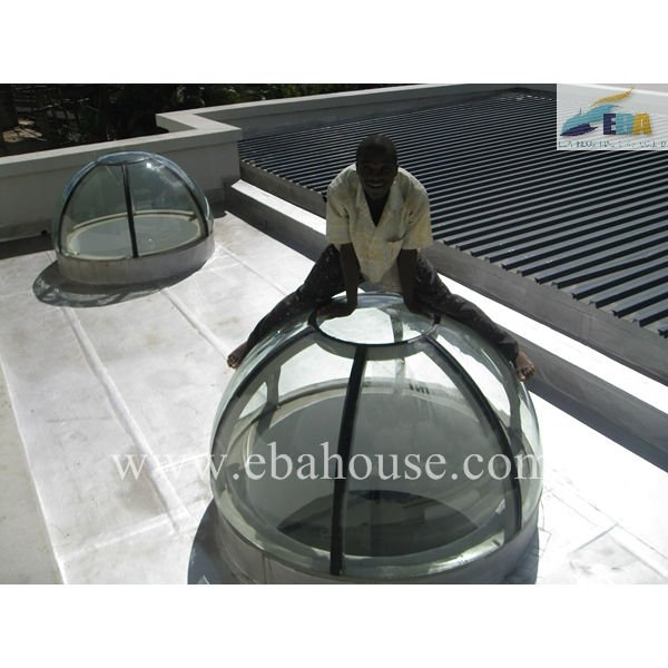 Aluminium round window aluminium skylight roof window skylight