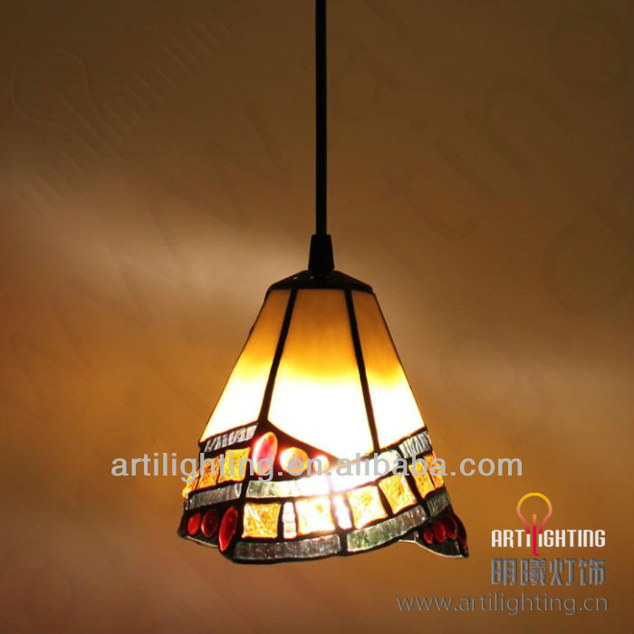 Vintage style LED pendent lamp for dinning room glass pendent lights