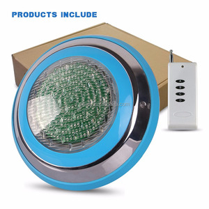 RGB/White 12v par56 led underwater pool light ip68 spa led light par 56 led swimming pool