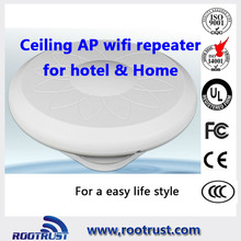 300 Mbps, 500 mw outdoor e Indoor <span class=keywords><strong>wifi</strong></span> access point con montaggio a soffitto design e 2dBi <span class=keywords><strong>Antenna</strong></span>, 12 V/24 V PoE Passivo