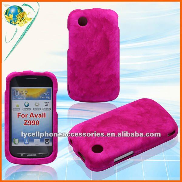 2012 hotsale new cell phone case For ZTE Avail Z990 rubber phone cover