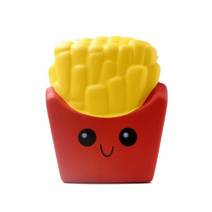 Hot Sale Snack Food Toy Slow Rising Soft Squishy French Fries