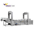 Fully automatic steam heating fish/chicken food processing and cooking machine