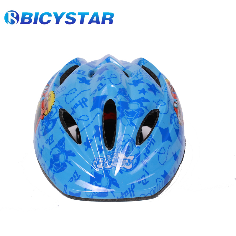 Kids Bike cycling helmet children bicycle riding helmets High Density PC Cartoons style CE approved christmas gift