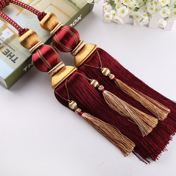 Tassel curtain/tassel earrings/tassel for curtain best sales products in alibaba