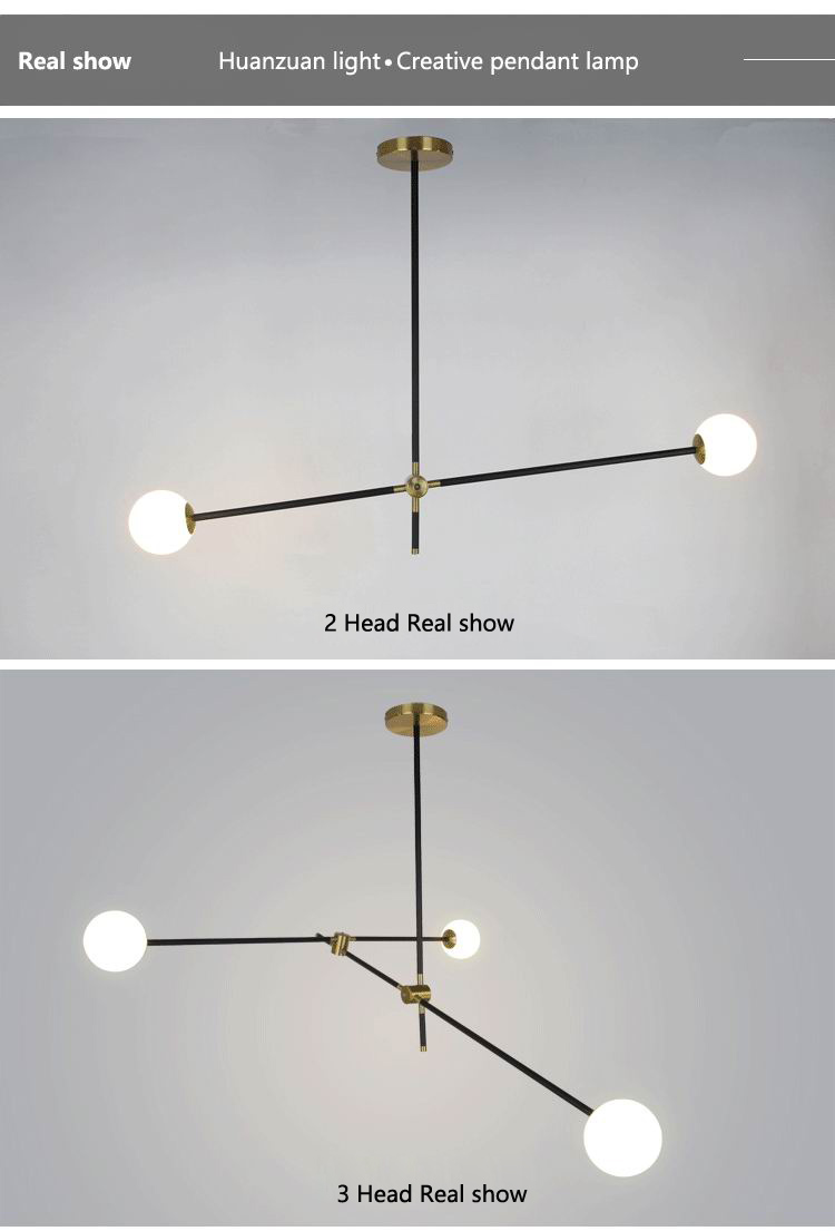 LED pendant lamp living room dining room bedroom  lighting Nordic lamp