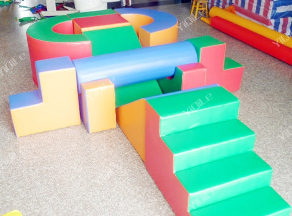 Amusement Park Children Soft Play Foam Blocks For Sale