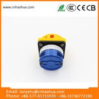 LW26GS series 32A wholesale from china waterproof rotary garden equipment electric cabinet cam switch lock
