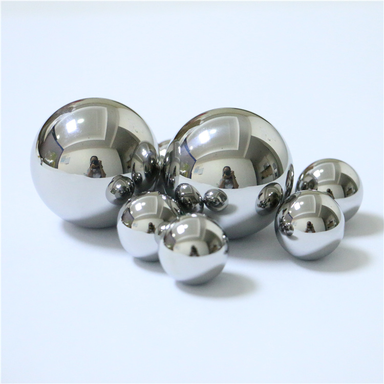 Custom size high precision 2mm 3mm 3.175mm solid 304 316 420 440c stainless steel ball