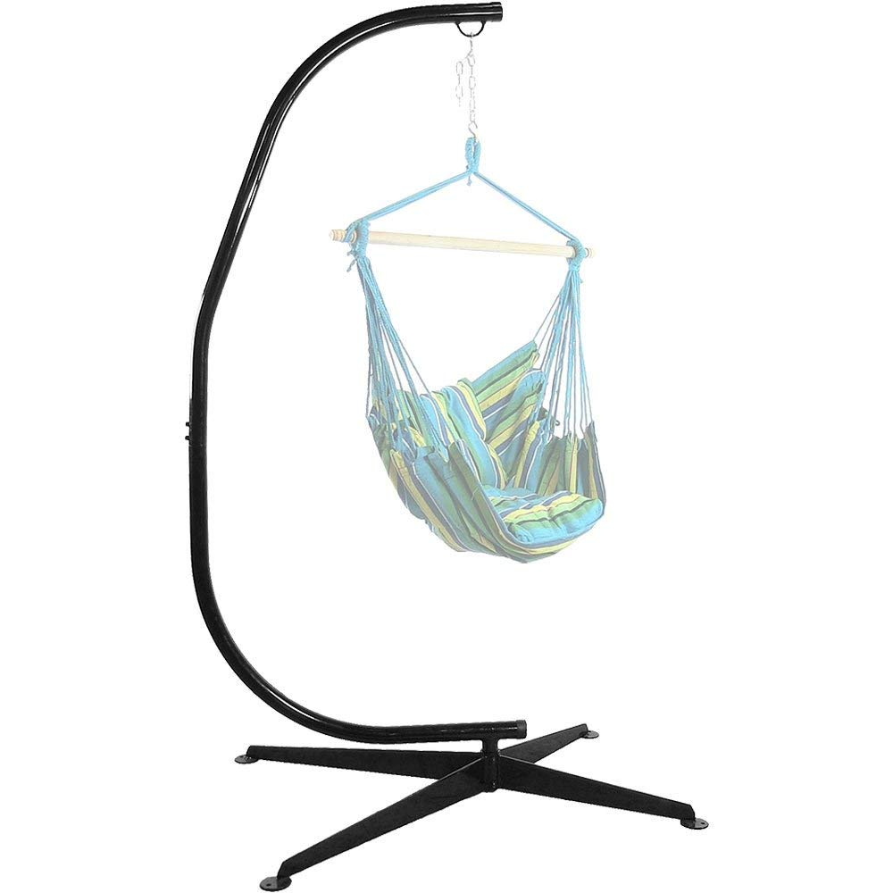Svitlife Steel C Stand For Hanging Hammock Chairs U0026 Swings Chair Hammock  Swing Hanging Outdoor Rope