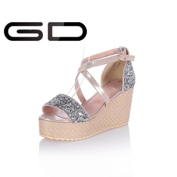Beautiful Hot Selling High Quility Latest Design Wedge Sandals