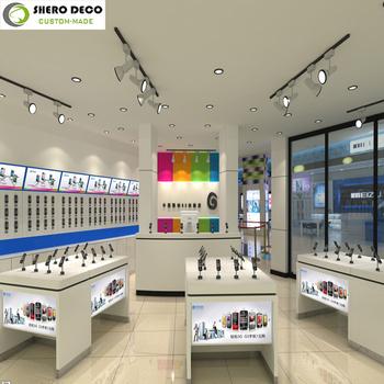 High Qulaity Fashion Mobile Phone Shop Interior Decoration Design ...