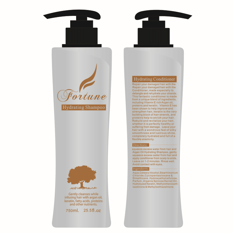 Private Label Italian Hair Care Products Coconut Shampoo