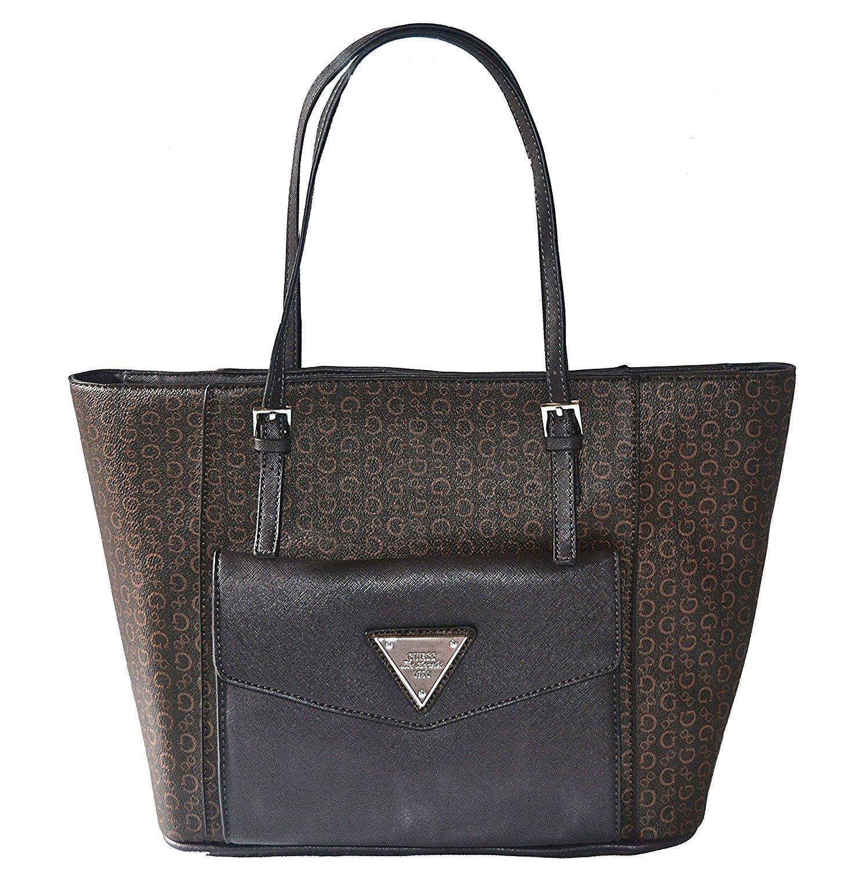 Get Quotations · GUESS Royal Oak Pocket Tote Bag Handbag Purse From Guess 92fd3efc70d89
