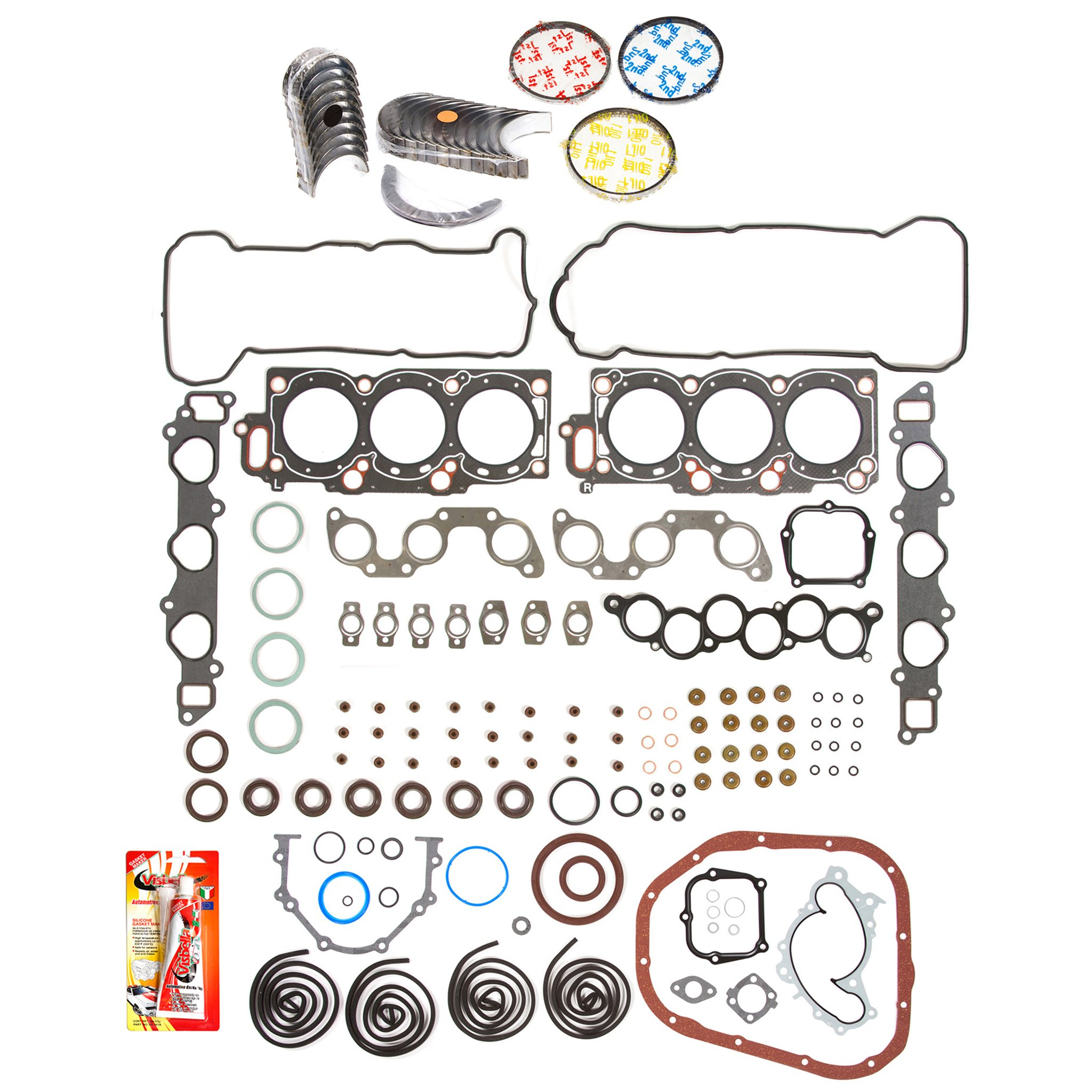 99-04 TOYOTA AVALON HIGHLANDER 3.0L 1MZFE 24V DOHC FULL SET ENGINE *RE-RING KIT*