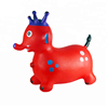Inflatable jumping animal toy elephant, plastic PVC jumping toys for kids