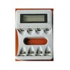 Fast safe charging AA AAA NiMH battery LCD Display charger by 5v