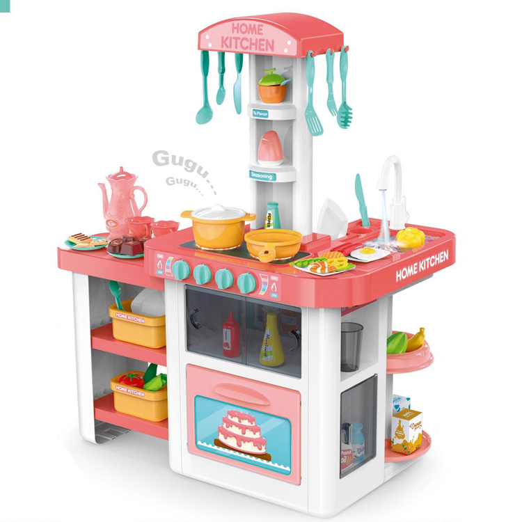 New Toys 2017 Children Toddler Toys Electronic Play Big Kitchen Set Toys For Child Buy Toddler Toys Toys For Child Big Kitchen Set Toy Product On Alibaba Com