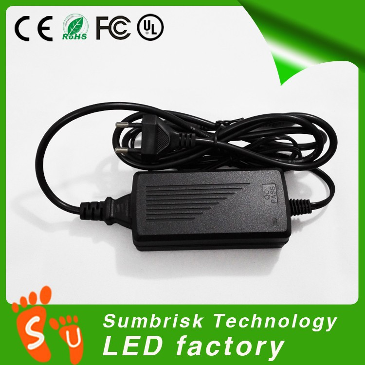 Factory wholesale high quality power supply 12v 5a for led strips power supply