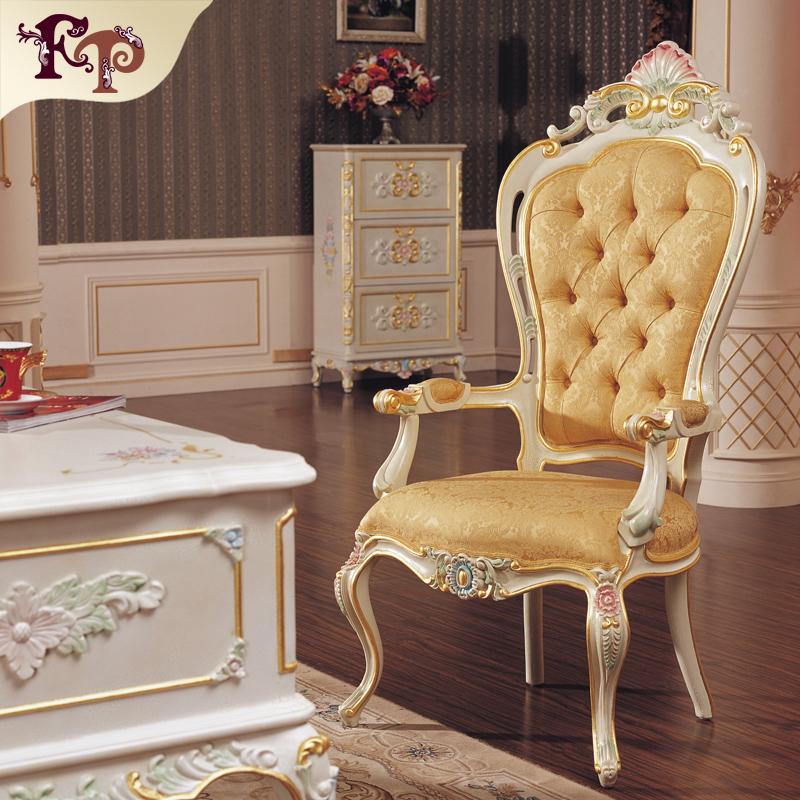 Rococ sedia da pranzo in stile classico francese antico - Sale da pranzo stile classico ...