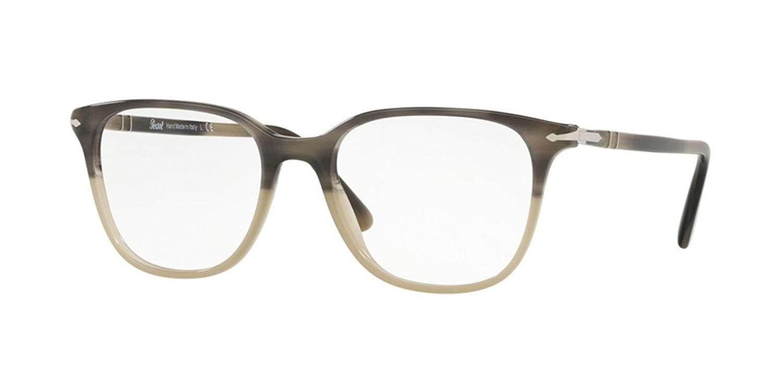 8b7fb144acc0a Get Quotations · Persol OFFICINA PO 3203V Grey Beige 53 18 145 Women  Eyewear Frame