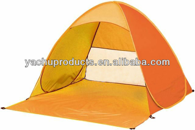 170T polyester or Oxford fabrics Fabric and 3 - 4 Person Tent Type camping tent