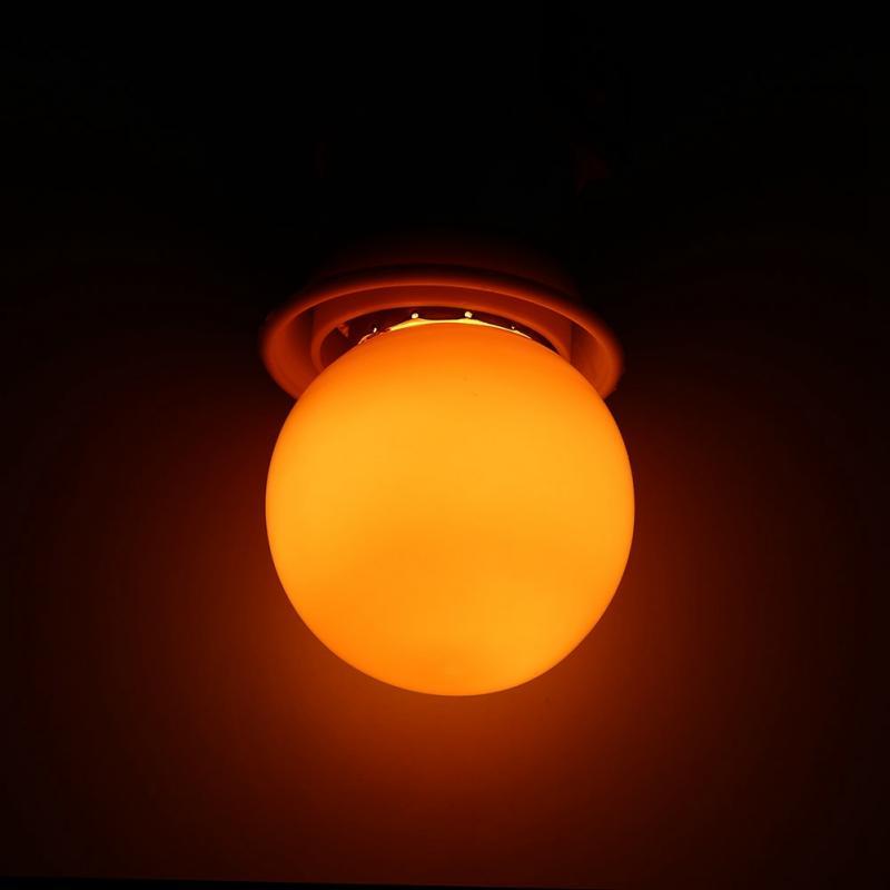 3 Вт E27 светодиодная лампочка круглой формы, цветная круглая лампочка для дома, бара, вечеринки, фестиваля, декоративная лампа, освещение(Китай)
