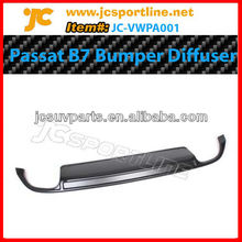 PU rear diffuser rear bumper lip for VW new Passat-JC style