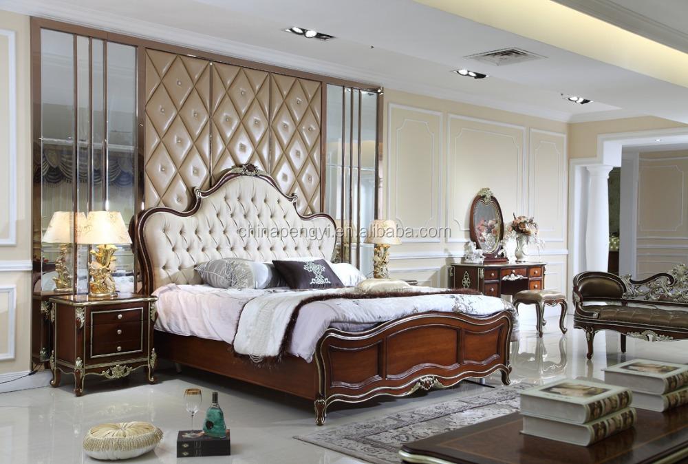 princess style solid teak wood bedroom furniture sets set india for sale