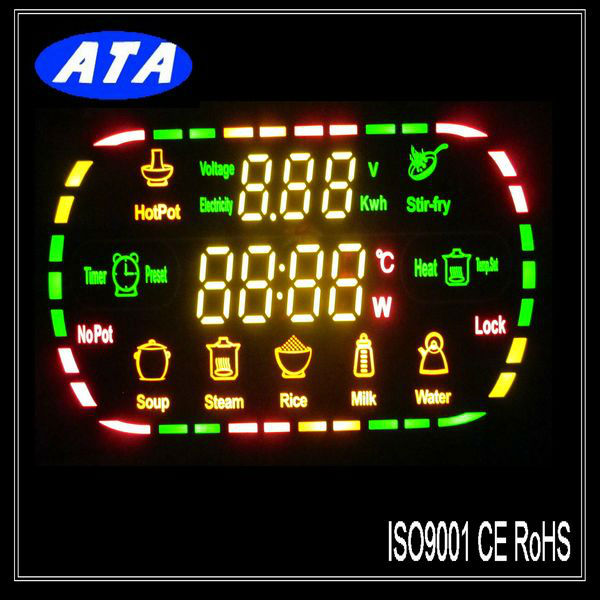 Good Price Shenzhen Custom Led Microwave Oven Display Digital Screen Product On Alibaba