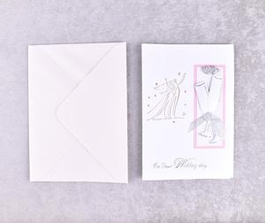 Indian Wedding Marriage Invitation Card Elegant Fashion Simple Style